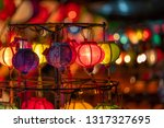Paper Lanterns With Beautiful...