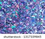 violet and purple sparkles.... | Shutterstock .eps vector #1317339845