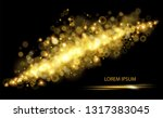 vector vintage background with... | Shutterstock .eps vector #1317383045