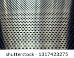 metal sheet with perforated hole | Shutterstock . vector #1317423275