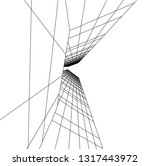 architectural drawing 3d | Shutterstock .eps vector #1317443972