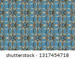 abstract classic golden pattern....   Shutterstock .eps vector #1317454718
