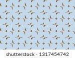 abstract classic golden pattern....   Shutterstock .eps vector #1317454742