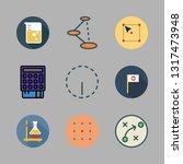 solution vector icon set | Shutterstock .eps vector #1317473948
