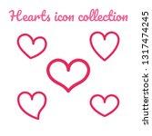 icon vector design illustration ... | Shutterstock .eps vector #1317474245