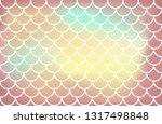 light yellow brown mermaid... | Shutterstock .eps vector #1317498848