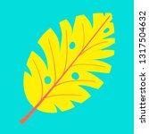monstera leaf  great design for ... | Shutterstock .eps vector #1317504632