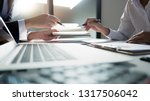 business administrator... | Shutterstock . vector #1317506042