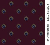 red wine color background ditzy ... | Shutterstock .eps vector #1317521075
