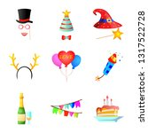 vector design of party and... | Shutterstock .eps vector #1317522728