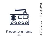frequency antenna icon from... | Shutterstock .eps vector #1317525248
