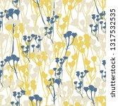 seamless hand rdawn pattern...   Shutterstock .eps vector #1317532535