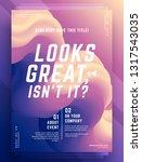 modern abstract cover design...   Shutterstock .eps vector #1317543035