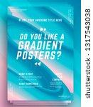 modern abstract cover design... | Shutterstock .eps vector #1317543038