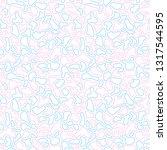 fluid  liquid flow shapes... | Shutterstock .eps vector #1317544595