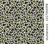 camouflage fluid simple pattern.... | Shutterstock .eps vector #1317544598