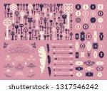 vector illustration with design ... | Shutterstock .eps vector #1317546242
