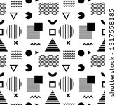 seamless abstract pattern with... | Shutterstock .eps vector #1317558185
