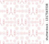 seamless pattern with zipper ...   Shutterstock .eps vector #1317565538