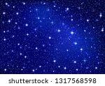 starry sparkle vector... | Shutterstock .eps vector #1317568598