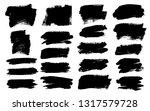 brush strokes. vector... | Shutterstock .eps vector #1317579728