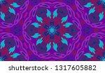 whimsical ethnic seamless...   Shutterstock .eps vector #1317605882