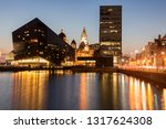 canning dock in liverpool.... | Shutterstock . vector #1317624308