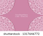 invitation or card template... | Shutterstock .eps vector #1317646772