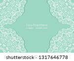 invitation or card template... | Shutterstock .eps vector #1317646778
