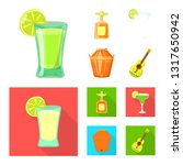vector design of cafe and latin ... | Shutterstock .eps vector #1317650942