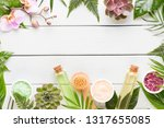 spa cosmetic products concept ... | Shutterstock . vector #1317655085