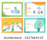 cloud storage mobile... | Shutterstock .eps vector #1317664115