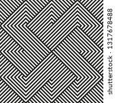 seamless geometric pattern... | Shutterstock .eps vector #1317678488