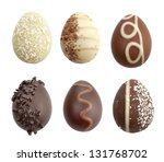 Chocolate Eggs Collection On...