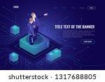 programmer engineer concept ... | Shutterstock .eps vector #1317688805