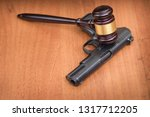 oncept of crime and punishment.... | Shutterstock . vector #1317712205