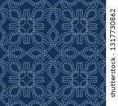 abstract motif sashiko style...   Shutterstock .eps vector #1317730862