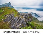 Beautiful Mountain View With...