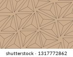 vector background network of... | Shutterstock .eps vector #1317772862