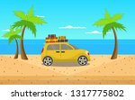 it's time to go to a beautiful... | Shutterstock .eps vector #1317775802
