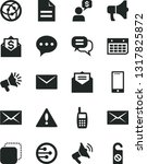solid black vector icon set  ... | Shutterstock .eps vector #1317825872