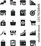 solid black vector icon set  ... | Shutterstock .eps vector #1317828848