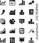 solid black vector icon set  ... | Shutterstock .eps vector #1317828965