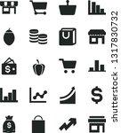 solid black vector icon set  ... | Shutterstock .eps vector #1317830732