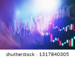 technical price graph and... | Shutterstock . vector #1317840305