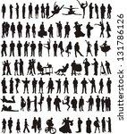 people | Shutterstock .eps vector #131786126