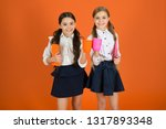 school mates relaxing with... | Shutterstock . vector #1317893348