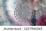 geometric design. colorful... | Shutterstock .eps vector #1317960365
