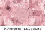 geometric design. colorful... | Shutterstock .eps vector #1317960368