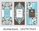 luxury packaging design of... | Shutterstock .eps vector #1317977615